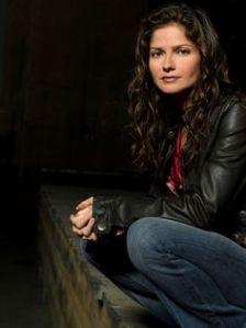 CROSSING JORDAN -- NBC Series -- Pictured: Jill Hennessy as Dr. Jordan Cavanaugh -- NBC Universal Photo: Mitch Haaseth