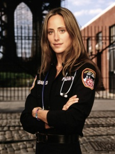 THIRD WATCH -- NBC Series -- Pictured: Kim Raver as paramedic Kim Zambrano -- NBC Photo: David Rose