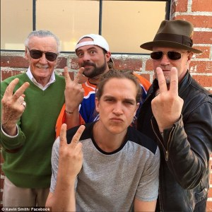 Mallrats 2! Stan Lee, Kevin Smith, Jason Mewes and Michael Rooker