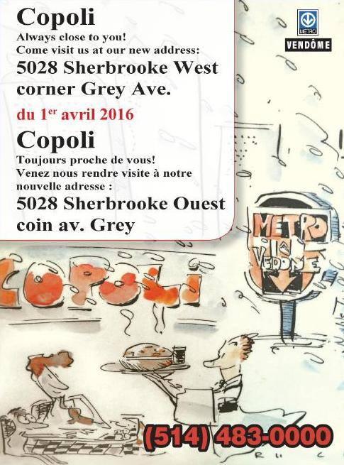 Copoli's New Address