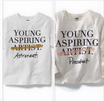 Old Navy Artists T-Shirts