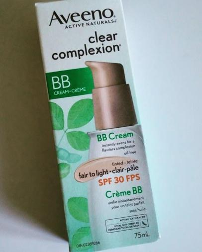 Aveeno BB Cream Clear Complexion Review
