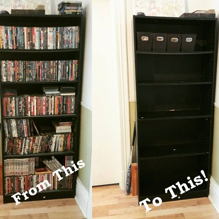 DVD Storage Storing 600+ DVDS & DVD Storage: Storing 600+ DVDS u2013 At Home With Joanna
